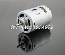 540 Micro DC Motor 6-24V 12V 10000RPM Metal Back Cover Powerful Strong Magnetic Carbon Brush Motor Electric Drill DIY Car Models(China (Mainland))