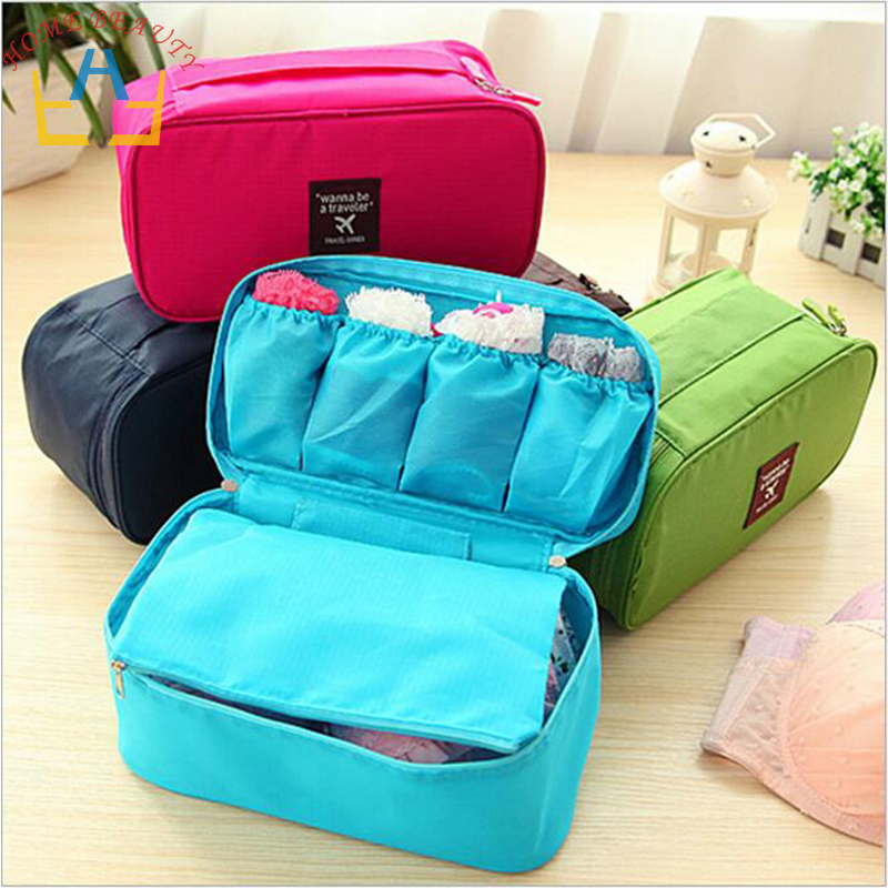 New Waterproof Brand Travel Storage Bag Set For Underclothes Tidy Organizer Pouch Suitcase Home Closet Divider container FH147(China (Mainland))