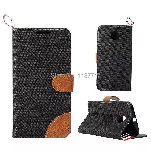 2pcs/lot free shipping England Style Cowboy wallet Leather Case Cover For Motorola Moto X2 Moto X+1 with stand and card slot(China (Mainland))