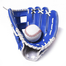 """Lightweight Adjustable Durable 10.5"""" PVC Artificial Leather Thicken Softball Baseball Glove Outdoor Team Sports Gloves(China (Mainland))"""