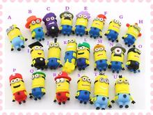 cartoon minious USB Flash 2.0 Memory Drive Stick Pen/Thumb/Car usb flash drives 4gb 8gb 16gb 32gb 64gb KS227(China (Mainland))
