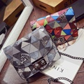 The 2016 winter hot new hit color chain bag fashion style single shoulder bag the best