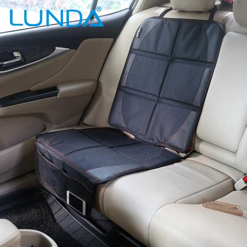 LUNDA Universal Car Seat Protector Mat Car Seat Cover Child or baby Easy Clean Seat Protector Safety Anti Slip Black(China (Mainland))