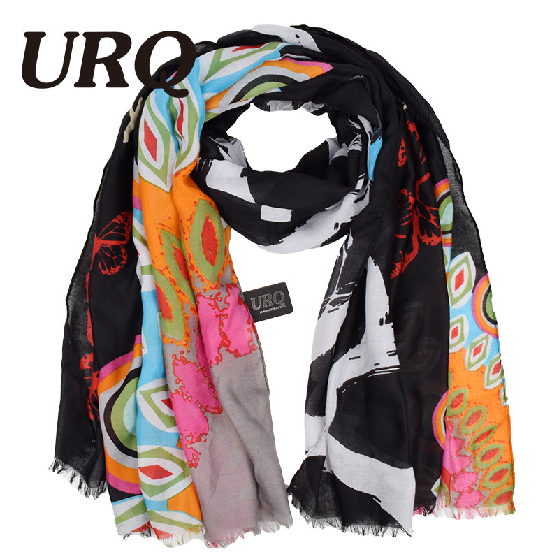 Autumn Winter Woman New Design Brand Luxury Big Size Long Twill Cotton Scarf Scarves Foulard large shawl lady V9A18572(China (Mainland))