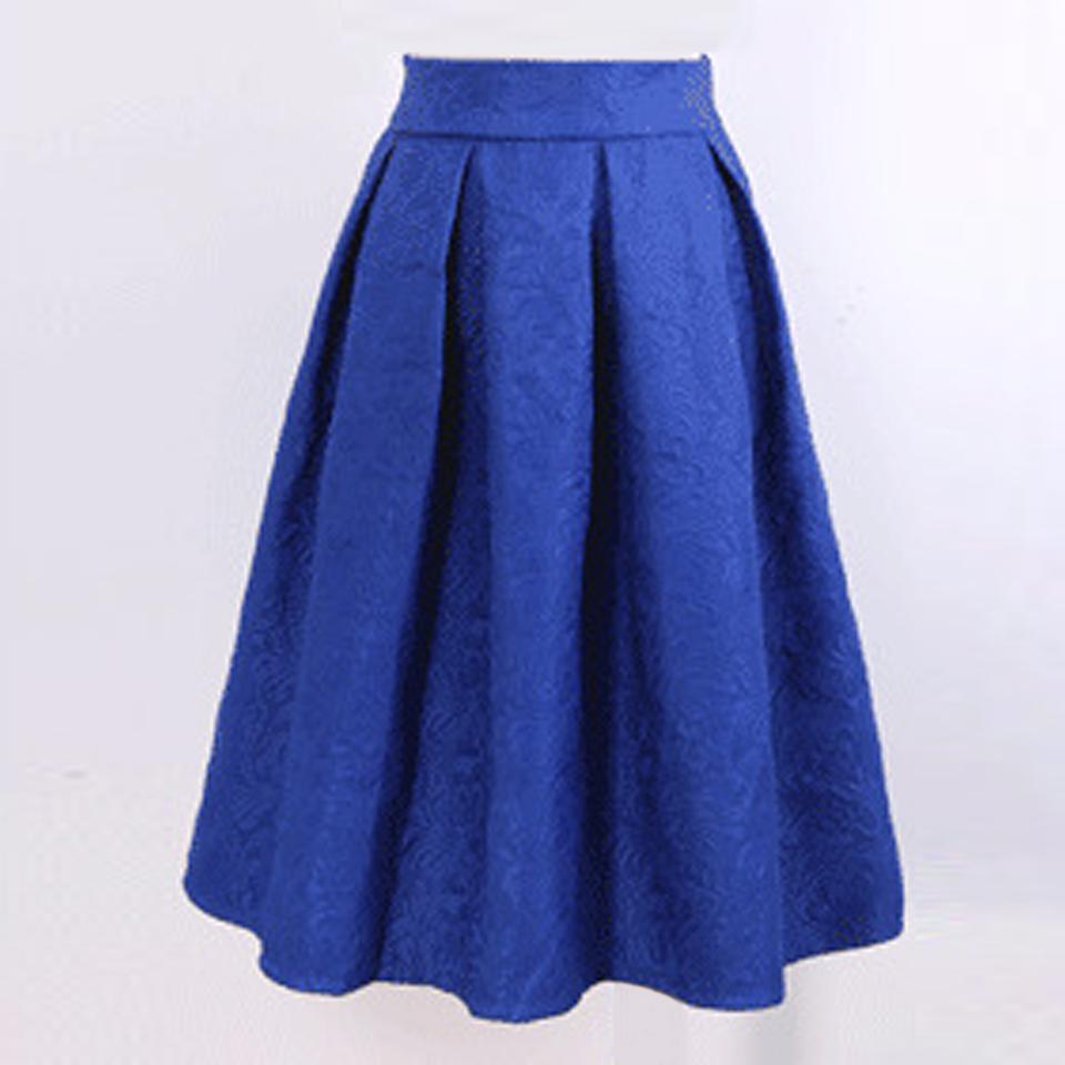 new autumn style vintage skirt high waist work wear