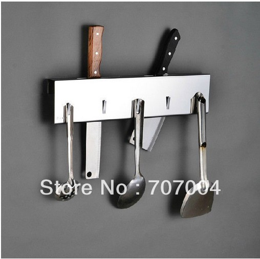 Stainless Steel Kitchenware Hangingshelf Wall Mounted