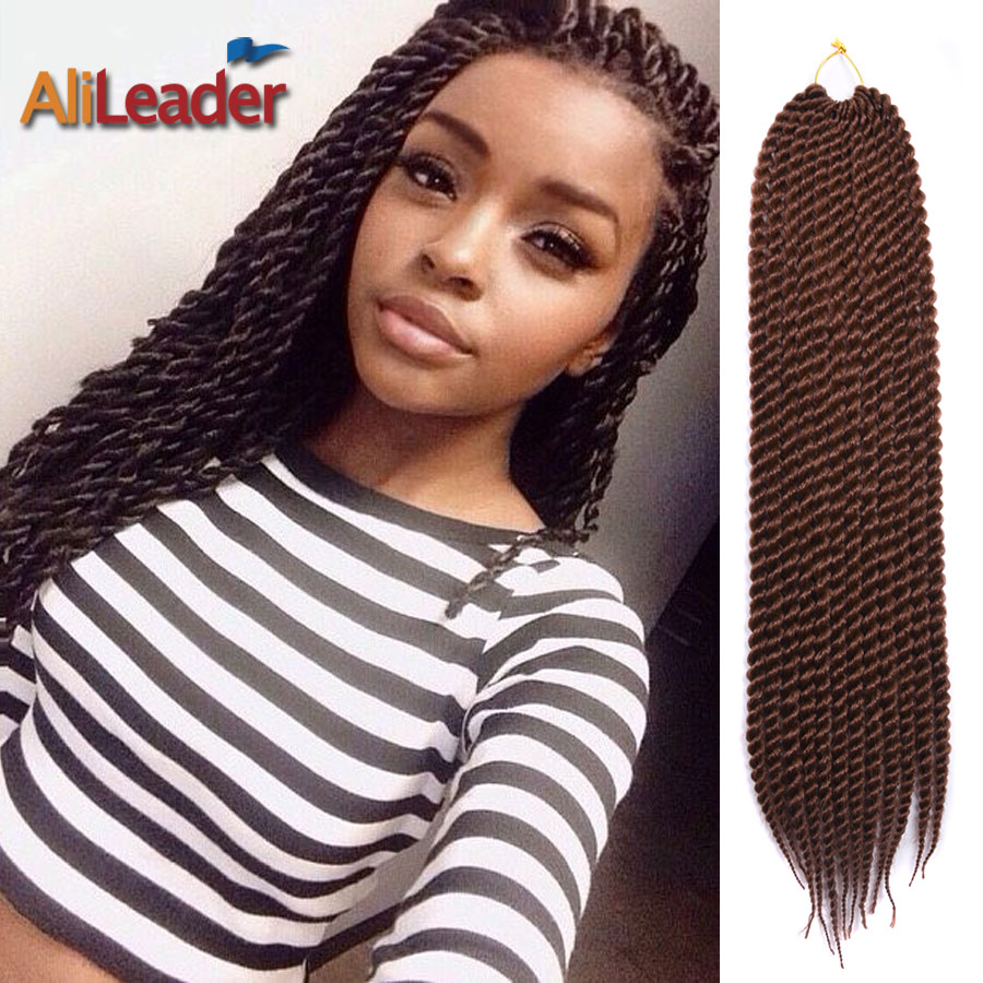 Quality Crochet Hair : Hair 22 Long Wavy Crochet Braids Hair Marley Braid Hair High Qualit...