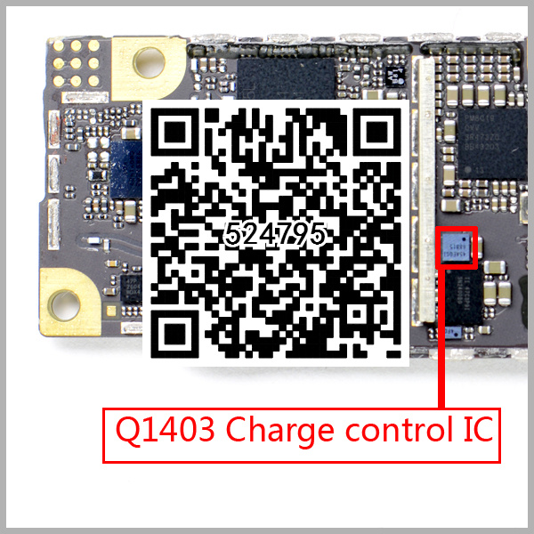 30pcs/lot For iPhone 6 6+ Plus Q1403 9 pin glass ic chip USB Data Charging Charger Power Control IC Chip