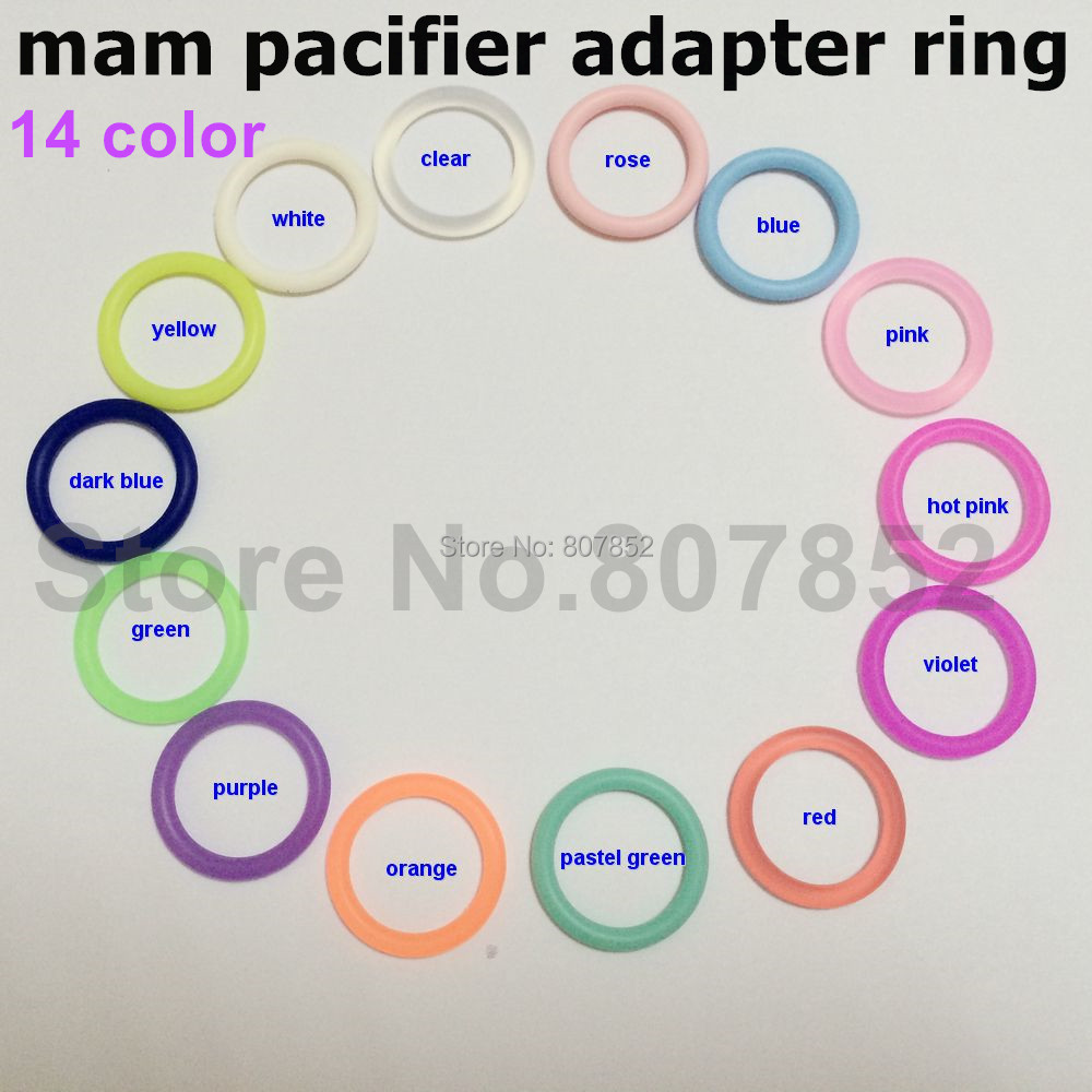 DHL 1000pcs mixed color BPA Free Silicone Baby Pacifier Holder Ring Napkin Adapter O Ring Dummy Ring Holder MAM ring for Napkin<br><br>Aliexpress