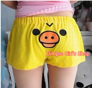 1pcs Hot New 2015 Kawaii Cute Cartoon Rilakkuma Women Shorts Summer For Woman Female Women's Clothing(China (Mainland))