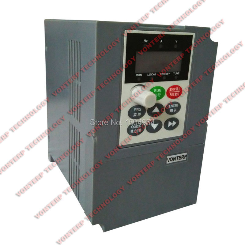 Фотография 220v 0.75kw  4.5A 1 phase input and 220v 3 phase output  ac drive/VFD/VSD