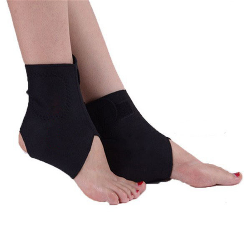 1Pair Good Self-heating Tourmaline Ankle Far Infrared Magnetic Therapy Ankle Support Brace Massager<br><br>Aliexpress