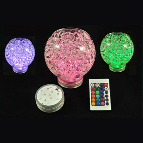2016 Brand New submersible led light  (12 Pieces/lot) Battery operated for wedding decorations party supplies