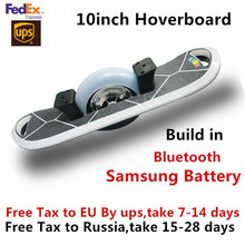 Buy New 10 Inch One Wheel Electric Skateboard Bluetooth Hoverboard Self Balance Electric Scooter Samsung Battery LED light for $358.99 in AliExpress store