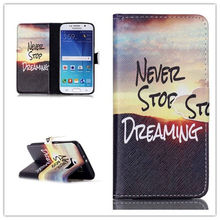For S6 Flip Wallet PU Leather Case For Samsung Galaxy S6 G9200 Soft Feel Card Slot Phone Bag Cover With Stand +Free U-bracket