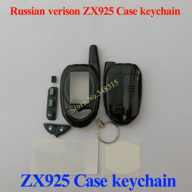 Factory price high quality Case keychain for Sheriff ZX925 Remote Starter Sheriff ZX-925 case keychain free shipping(China (Mainland))