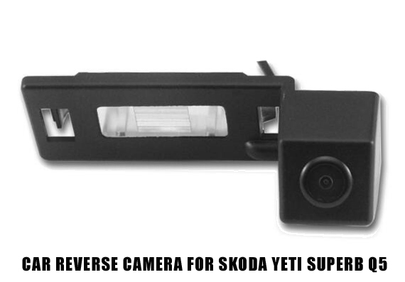 CCD Car Rear View Reverse Camera for Skoda Superb 2013 Yeti 2013 Audi Q5 Vehicle Parking Assist Guide Line Auto backup Camera(Hong Kong)