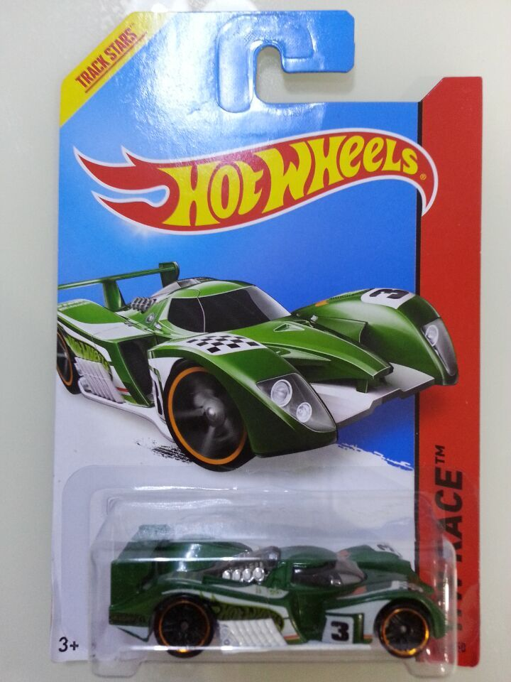 Hot sell Free Shipping car model, 1:64 car toys, children's toys, alloy car Hot Wheels GREEN 24 OURS2(China (Mainland))