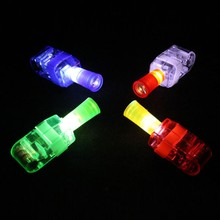 LED Finger Lights Lamps Projectors Party Laser Finger Light Up Beam Torch Glow Ring Party Decoration High Quality(China (Mainland))