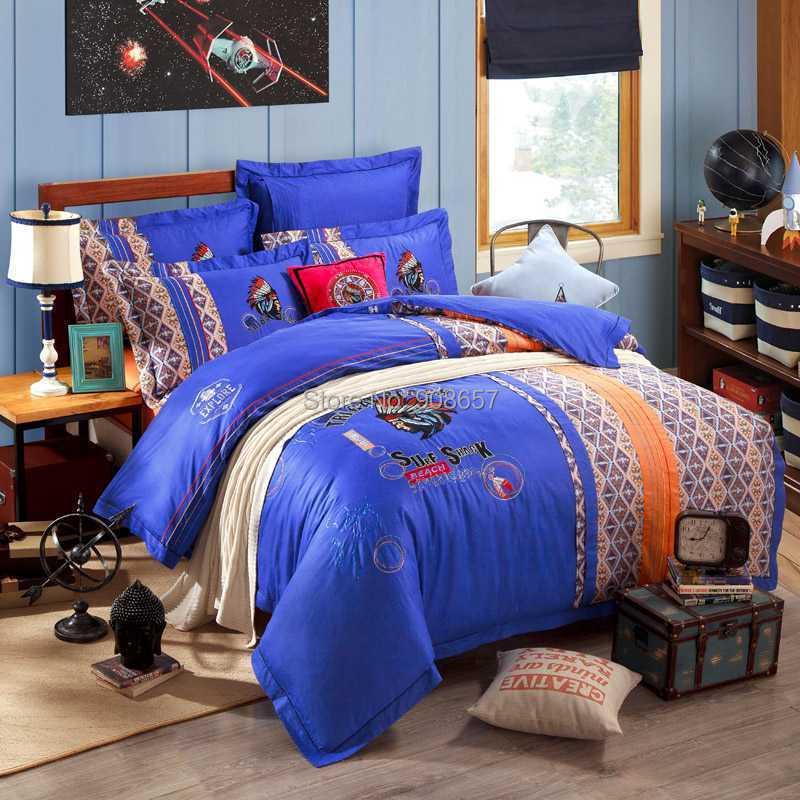 achetez en gros indien coton literie en ligne des grossistes indien coton literie chinois. Black Bedroom Furniture Sets. Home Design Ideas