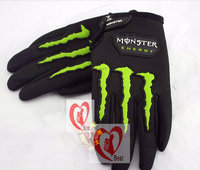 Free shipping Style Cycling Bike Bicycle Racing Motorcycle Antiskid GEL Full Finger Silicone Gloves Size M L XL