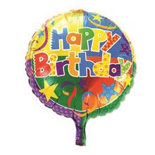 Новый 18-дюймовый алюминиевый круглый шар день рождения детские игрушки оптом свадьба день рождения воздушные шары партии