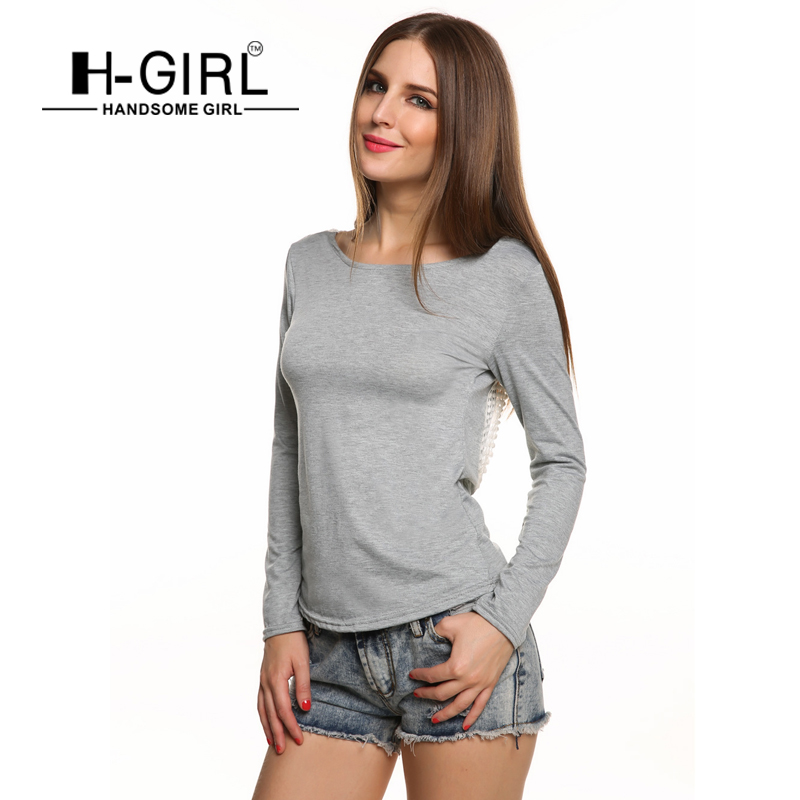 sch ne m dchen frauen langarm t shirts tops fshion 2015. Black Bedroom Furniture Sets. Home Design Ideas