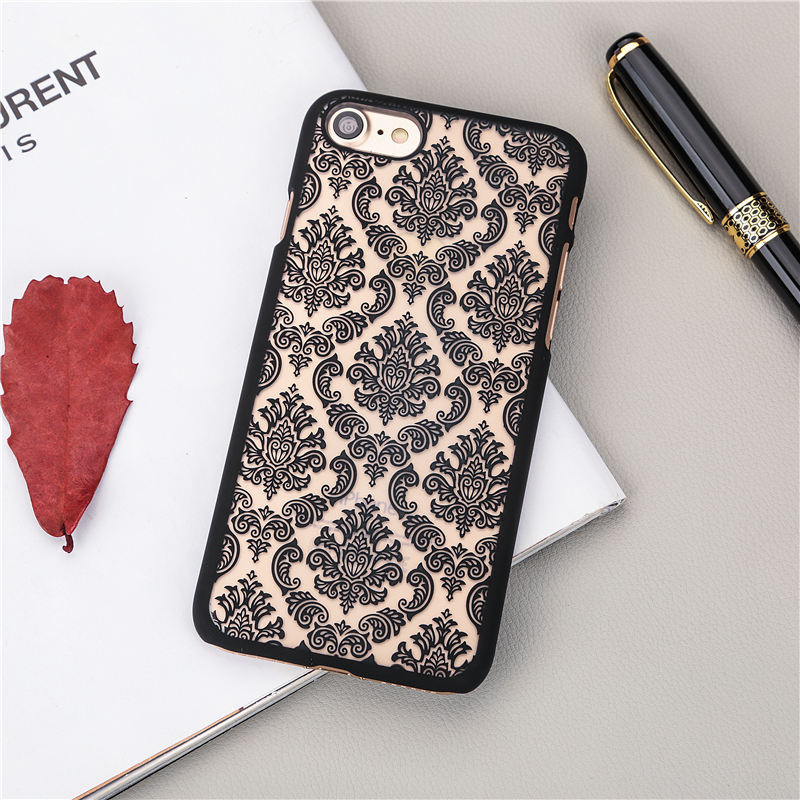for iphone 6s ! New Arrival Luxury Vintage Flower Pattern phone case for iphone 6 6S case Cell Phone Back Cover coque 4.7 inch(China (Mainland))
