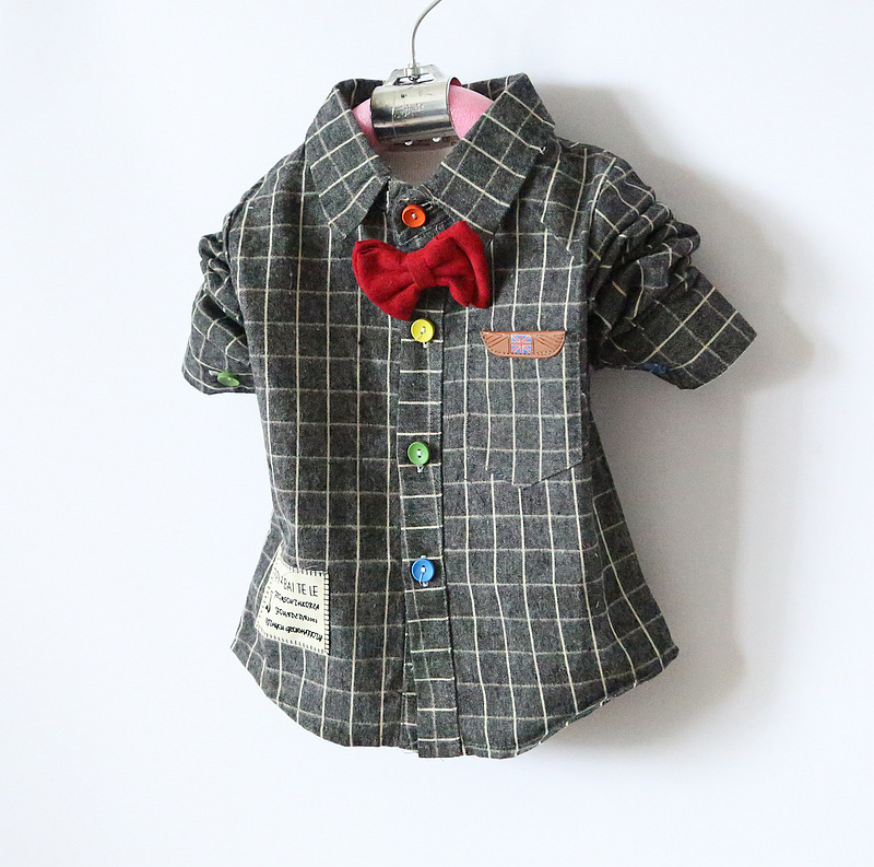 Red dress shirts for infants
