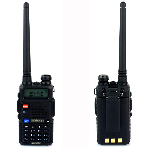 New BaoFeng UV-5R Portable radio Walkie Talkie Pofung UV5R Two Way Radio 5W 128CH UHF/VHF Dual Band Handled Transceiver A7108A(China (Mainland))