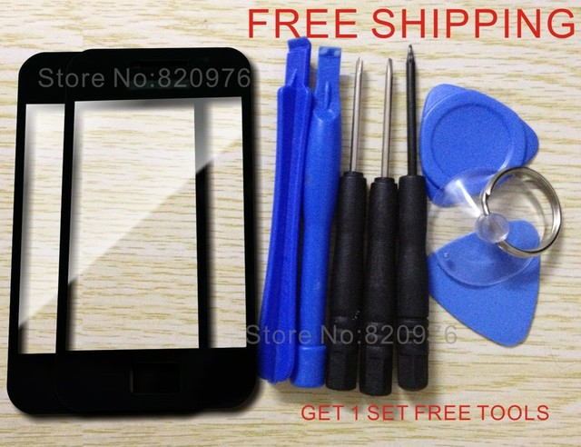 (2 Piece/lot) Original Front Glass Screen LCD Top Replacement Glass for Samsung Galaxy Ace S5830 5830+Tools+FreeShipping
