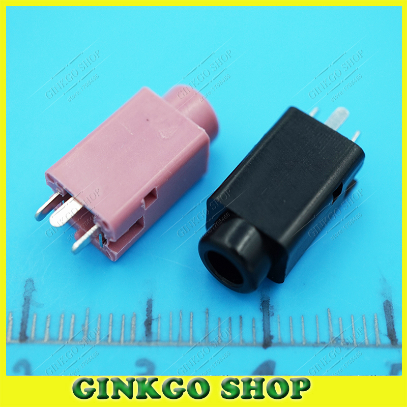 50 3.5mm Audio Jack Headphone 3.5 Connector Copper Head 3DIP Pins PJ-359 - Ginkgo(GuangZhou store E-Commerce Co., Ltd.)