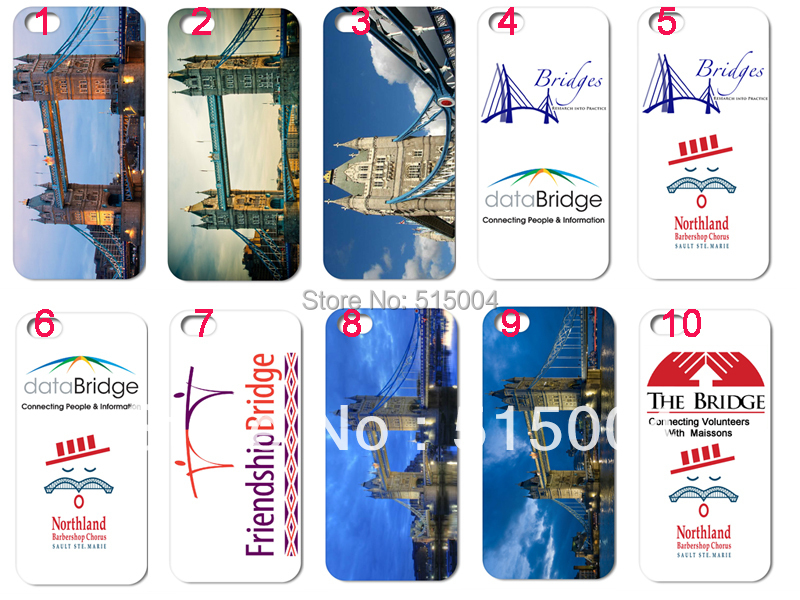 New design London bridge hard back case for iphone 5 5th 10pcs/lot +free shipping(China (Mainland))