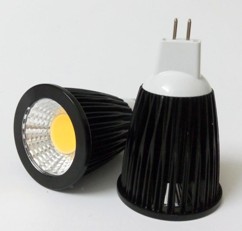 Dimmable gu10 led cob spotlight 6w 9w 12w MR16 GU5.3 E27 led bulb 85-265V ultra bright led spot light lamp DC12V(China (Mainland))