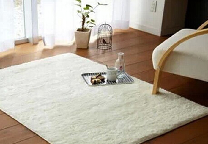 free shipping super soft solid color rice white carpet floor rug living room carpet area rug. Black Bedroom Furniture Sets. Home Design Ideas