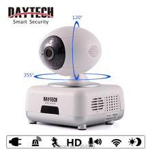 Daytech WiFi IP Camera Home Security Camera 720P Night Vision Infrared Two Way Audio Baby Camera Monitor Night Vision DT-C8816()