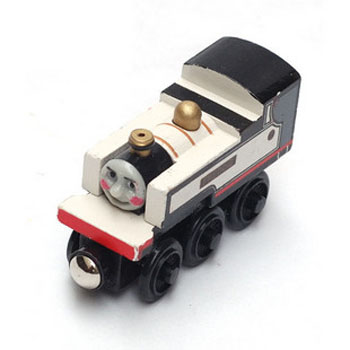 Thomas And Friends Train Car Wooden Car Toy Engine Train Toys No.62 Fearless Freddie(China (Mainland))