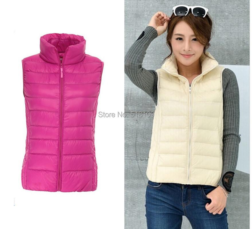buy new 2015 autumn and winter brand women vest plus size