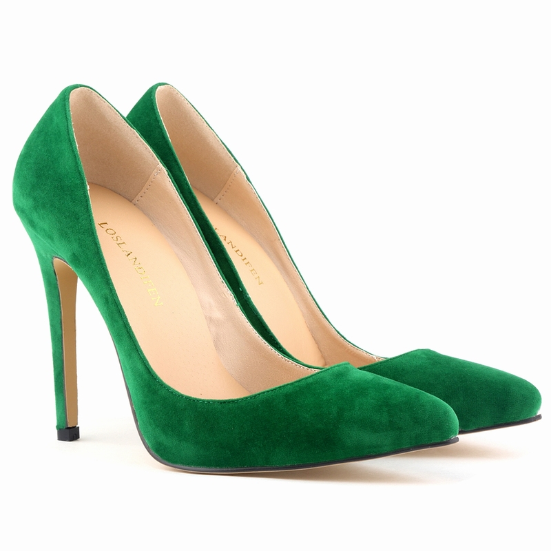 Classic Sexy Pointed Toe High Heels Women Pumps Velvet Spring Brand Design Wedding Shoes Pumps Big Size 35-42 10color 302-1VE(China (Mainland))