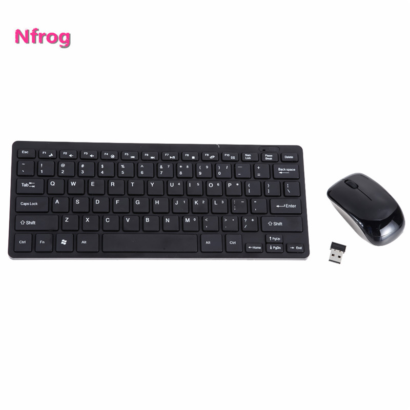 Keyboard Mouse Combos 2.4G Wireless Keyboard w/Optical Gaming Mouse w/ Keyboard Protective Cover for Desktop PC Android Smart TV(China (Mainland))