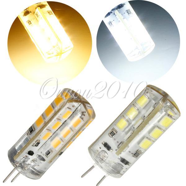 Best Promotion 2W G4 2835 SMD 24 LED Pure/Warm White Silicone Light lamp 12V(China (Mainland))