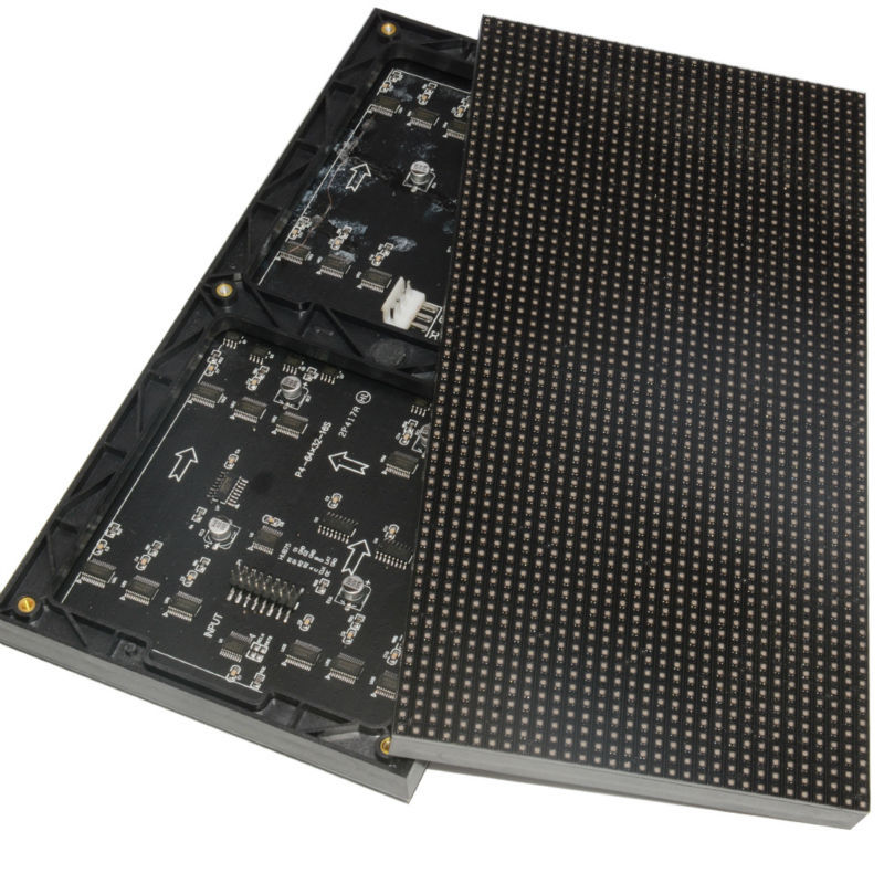 A SMD RGB Full Color P4 LED Display module high resolution Indoor 128*128mm 32*32 pixel 1/16 scan Video Wall Screen(China (Mainland))