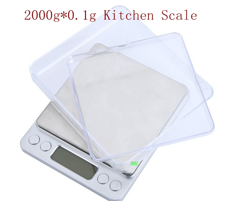 Digital kitchen scale 2kg 0 1 smart food weight for 0 1g kitchen scales