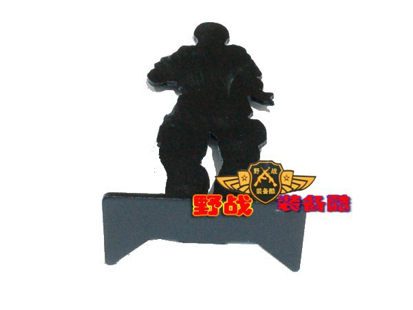 6pcs Full Metal Shooting Humanoid Soldiers shape Privates Target for Airsoft AEG GBB Hunting Training