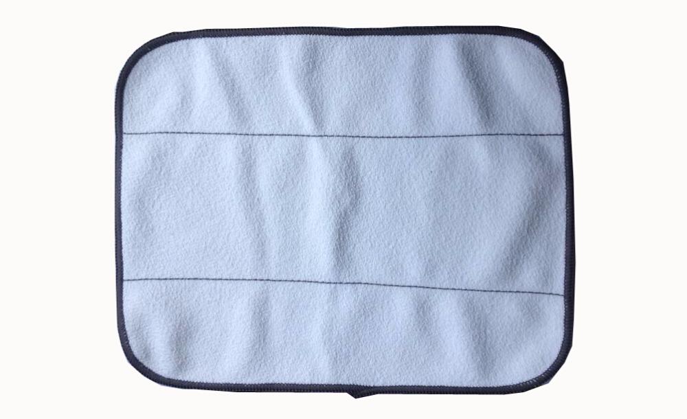 50Pcs/Lot Wholesale Microfiber Dry Mopping Cloths for iRobot Braava 380 380t 320 Mint 4200 4205 5200 5200C Robot(China (Mainland))