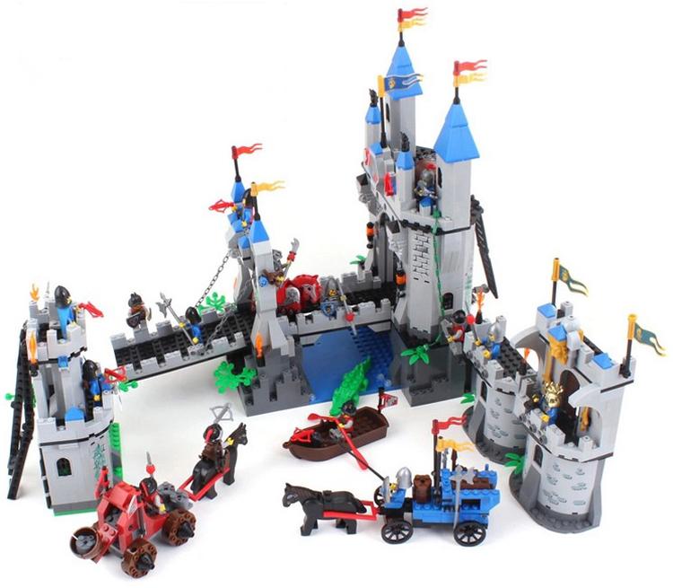 Toy Castles For Boys : Enlighten building blocks hot toy castle knight series