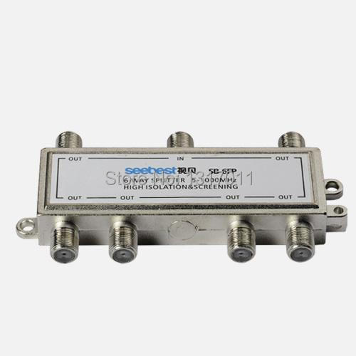 Seebest SB-6FP Outdoor splitter&tap off 6/8 way CATV splitter or tap off CATV directional coupler(China (Mainland))