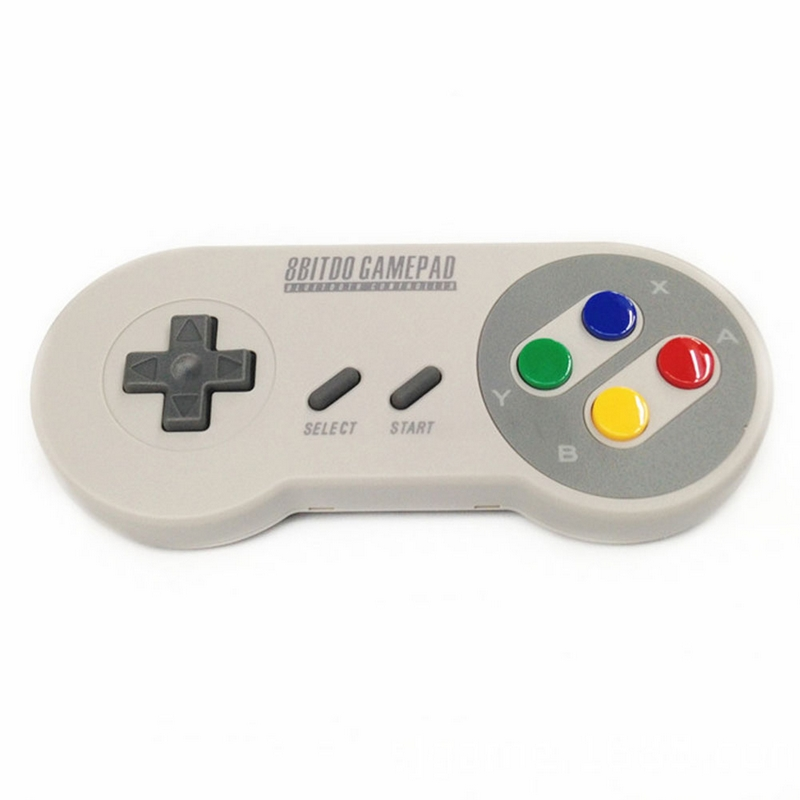 High Quality 8Bitdo SNES30 Bluetooth Wireless/USB cable wire Gamepad Pro Game Controller Design for iOS Android PC Mac Linux(China (Mainland))
