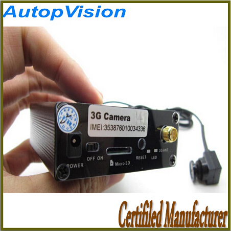 New Arrival car 3G Camera With 3G sim card wireless remote control(China (Mainland))
