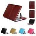 PU Leather Protective Cover For Macbook Pro 13 2016 A1706 A1708 Funda Laptop Sleeve Case Women